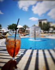 Aperol spritz Dead Sea Marriott